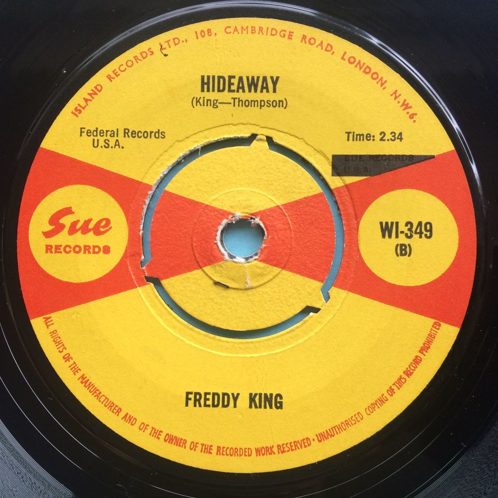 Freddy King - Hideaway - UK Sue - Ex