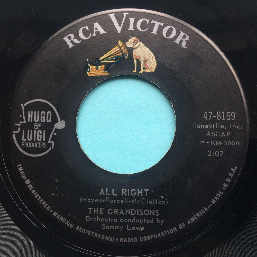 Grandisons - All right - RCA - VG+