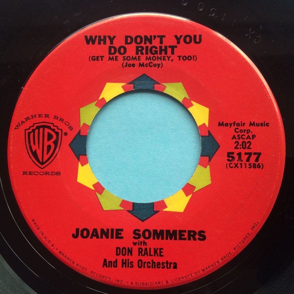 Joanie Sommer - Why don't you do right - WB - VG+