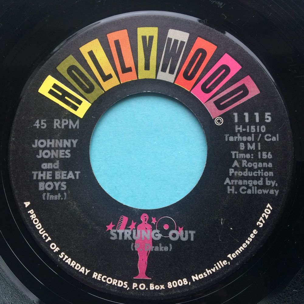 Johnny Jones and The Beat Boys - Strung Out - Hollywood - VG+