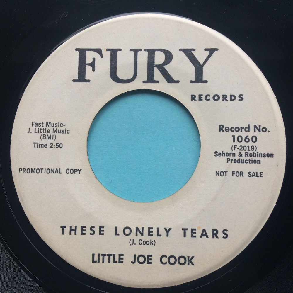 Little Joe Cook - These lonely tears - Fury promo - Ex