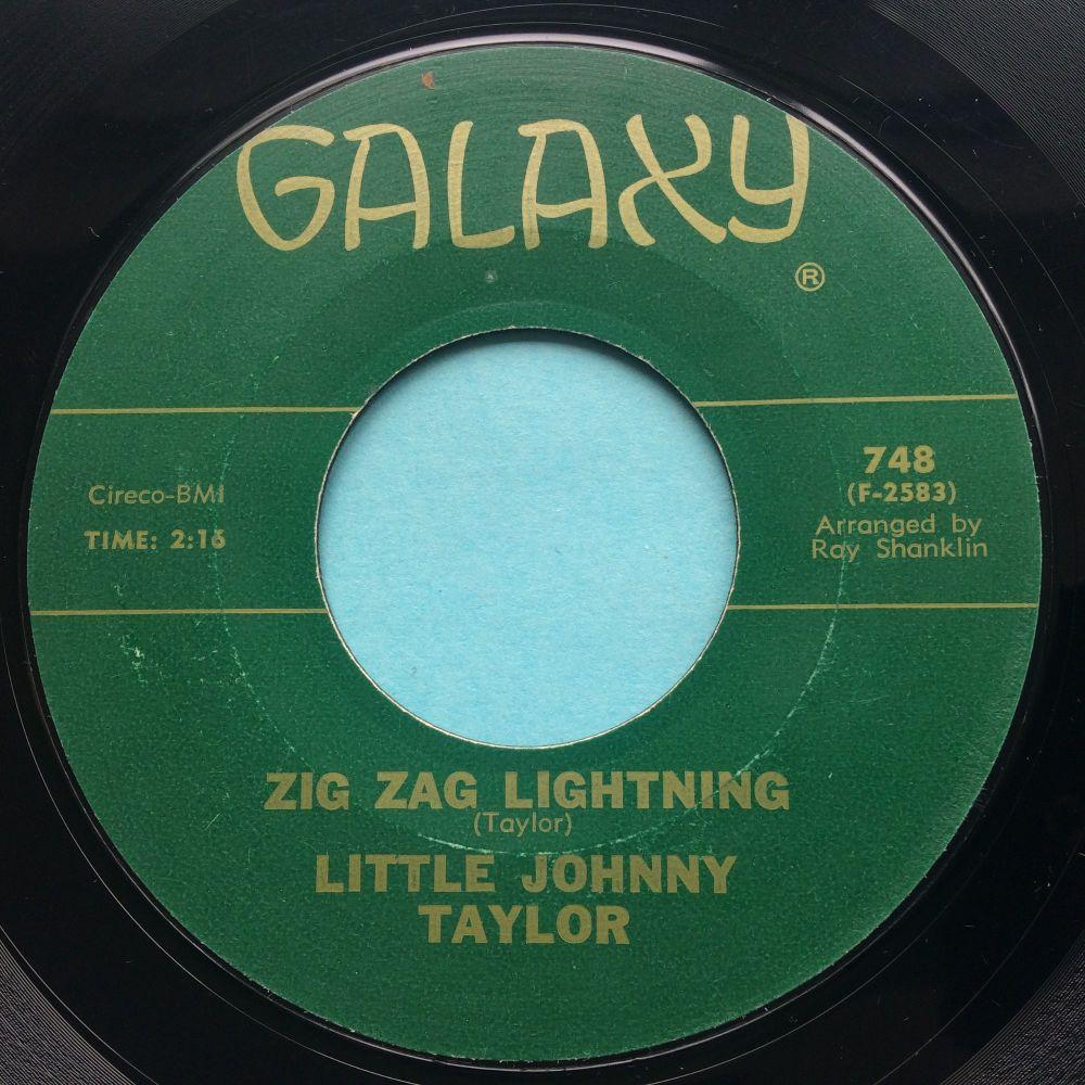 Little Johnny Taylor - Zig Zag Lightning - Galaxy - Ex