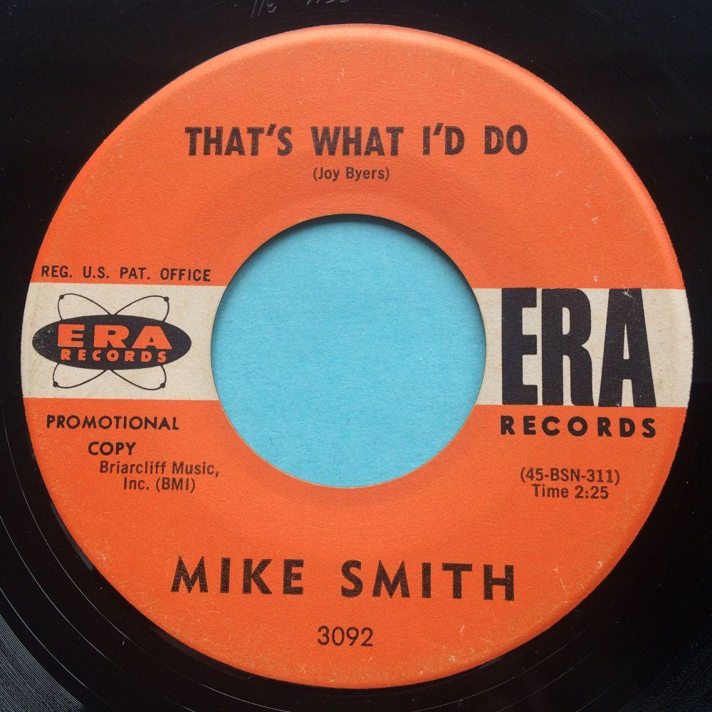 Mike Smith - That's what I'd do - Era promo - Ex-