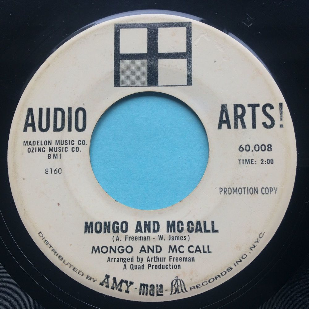 Mongo and Mc Call - So help me baby - Audio Arts promo - VG+