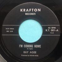 Ray Agee - I'm coming home- Krafton - VG+