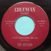 Sir Arthur - Stop cheating on me - Coleman - Ex-