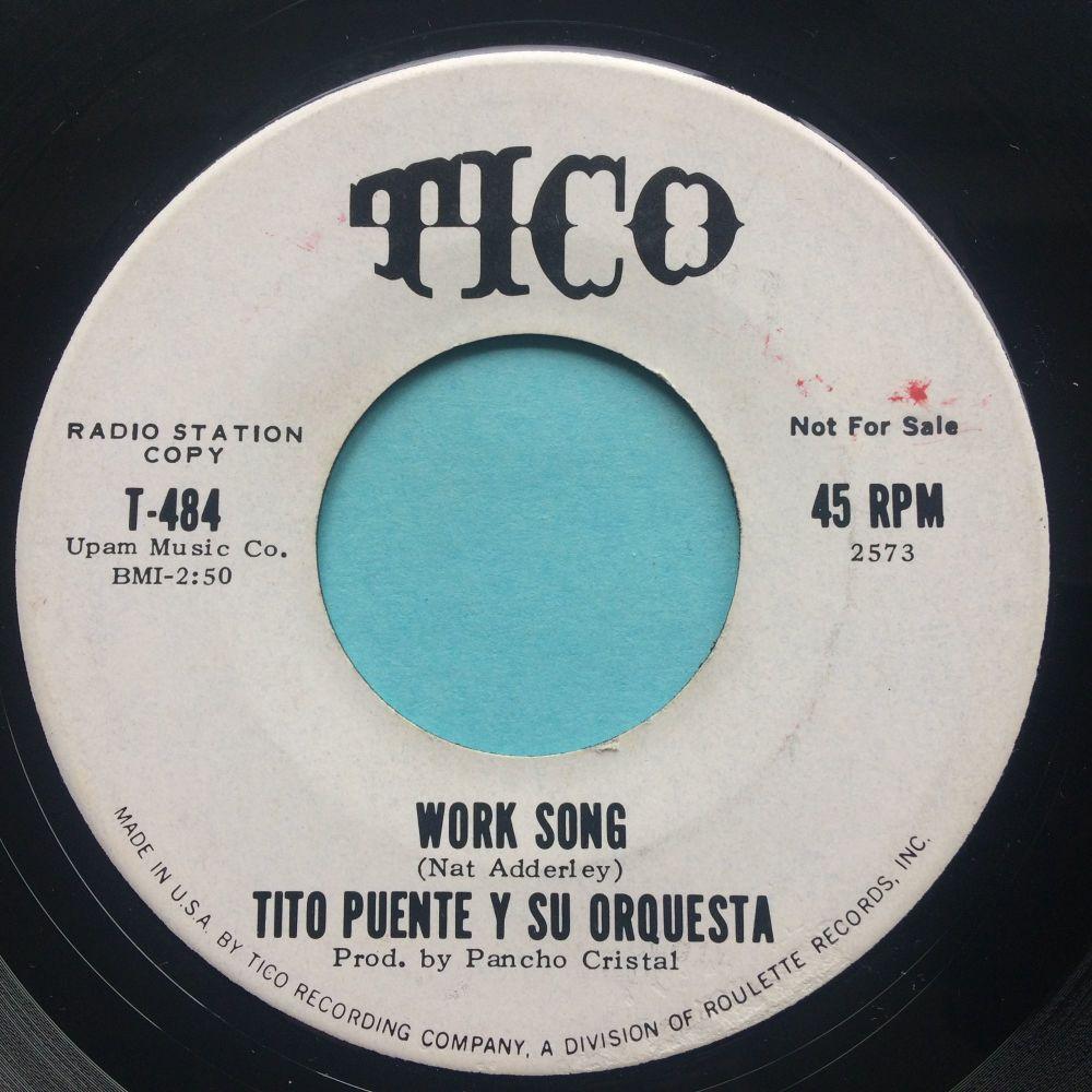 Tito Puente - Work song b/w Fat Mama - Tico promo - Ex-