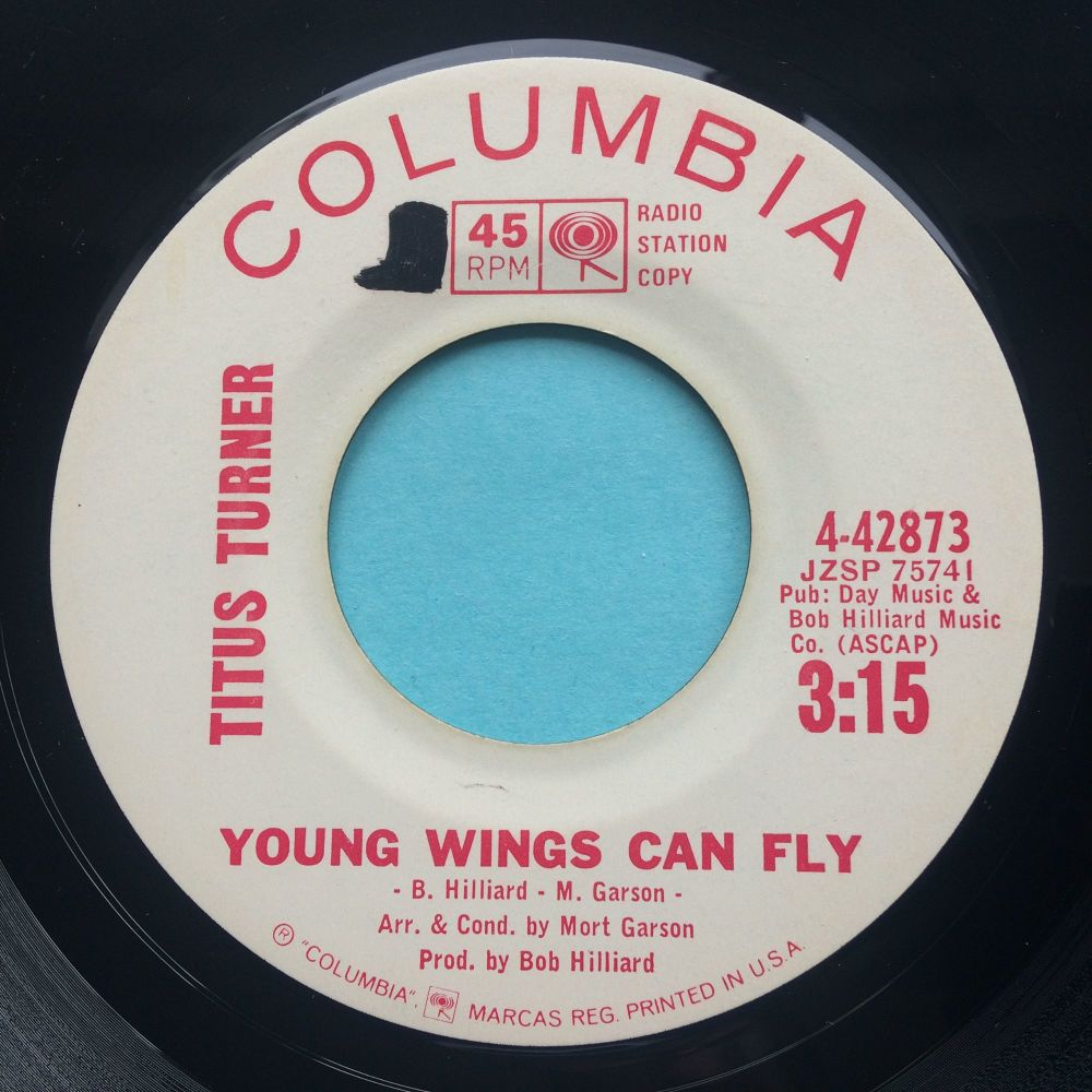 Titus Turner - Young wings can fly - Columbia promo - Ex- (swol)