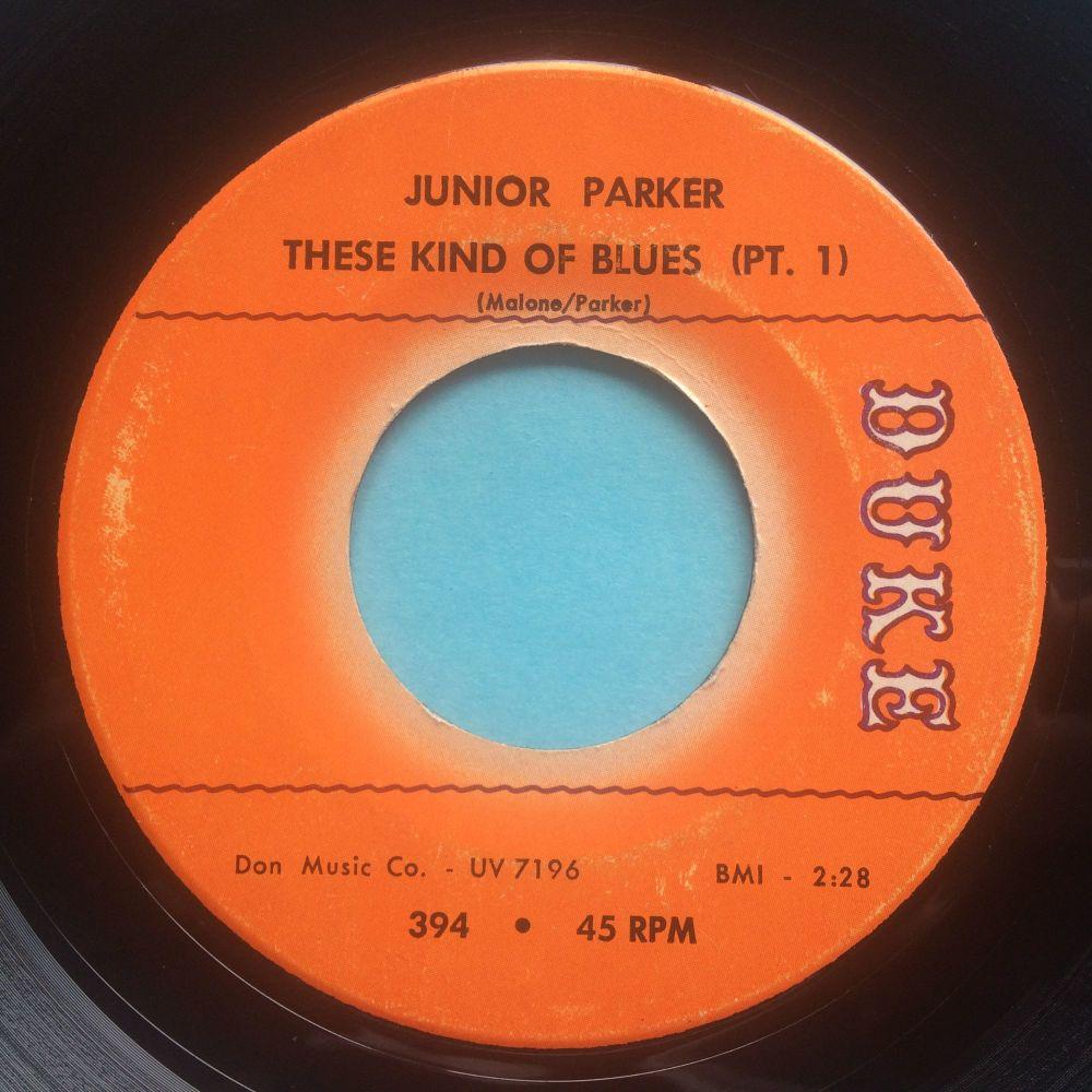 Junior Parker - These kind of blues Pt1 / Pt2 - Duke - Ex