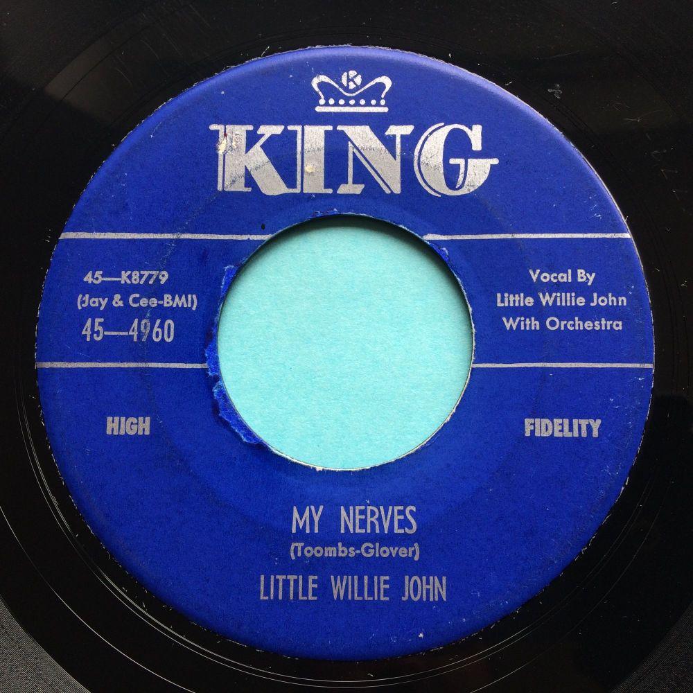 Little Willie John - My nerves - King - Ex-