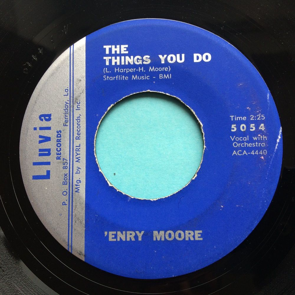 'Enry Moore - The things you do - Lluvia - Ex