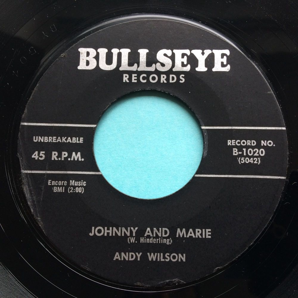Andy Wilson - Johnny and Marie - Bullseye - Ex-
