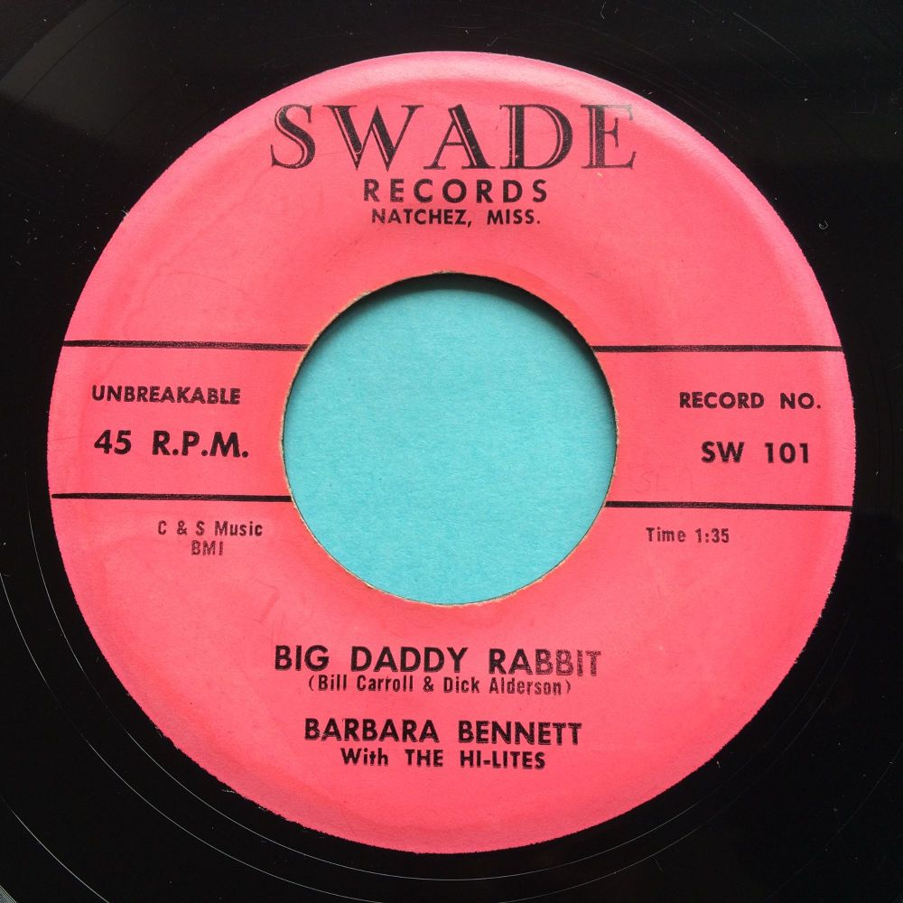 Barbara Bennett - Big Daddy Rabbit b/w You can make it if you try - Swade - VG+
