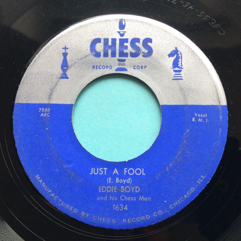 Eddie Boyd - Just a fool - Chess - VG+