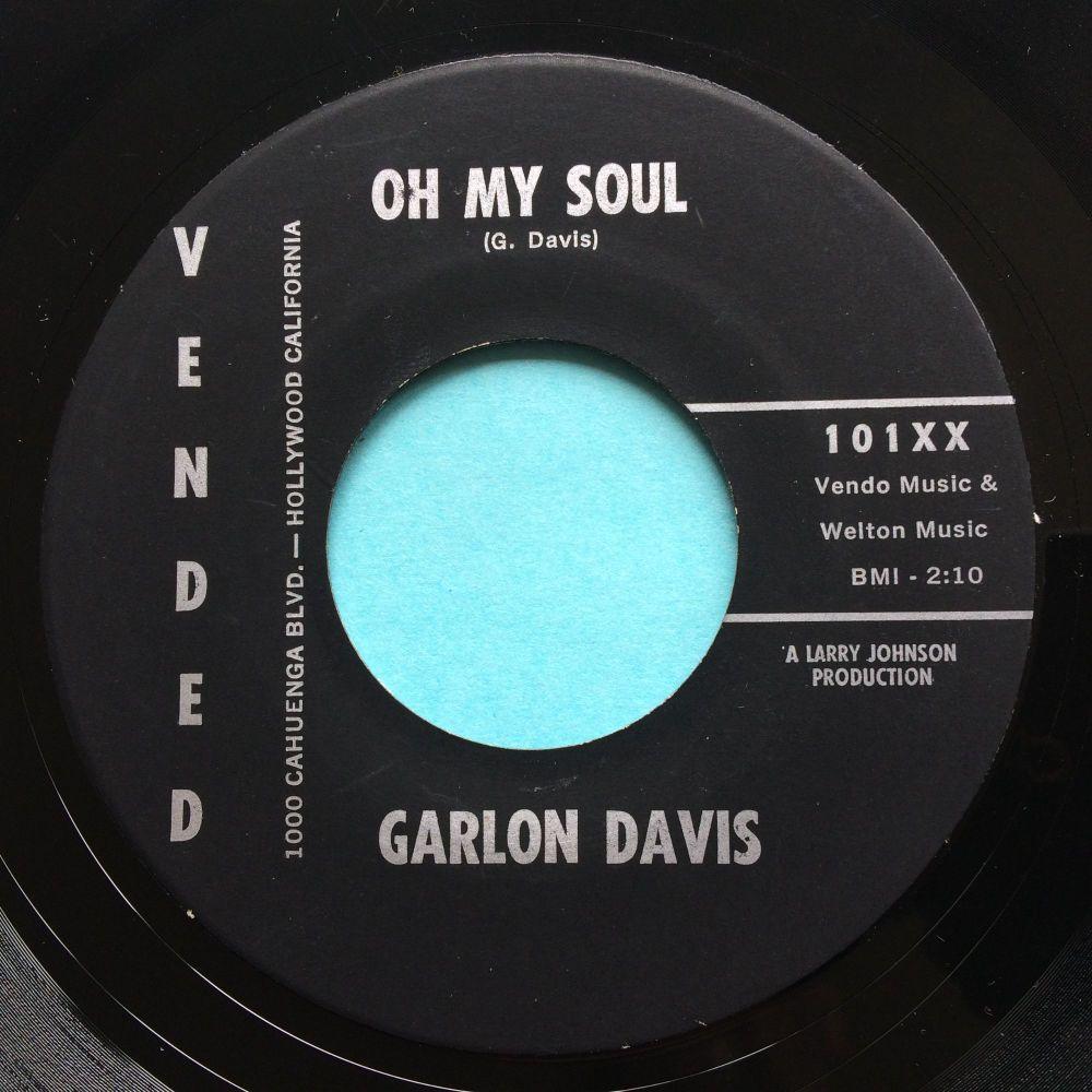 Garlon Davis - Oh my soul - Vended - Ex