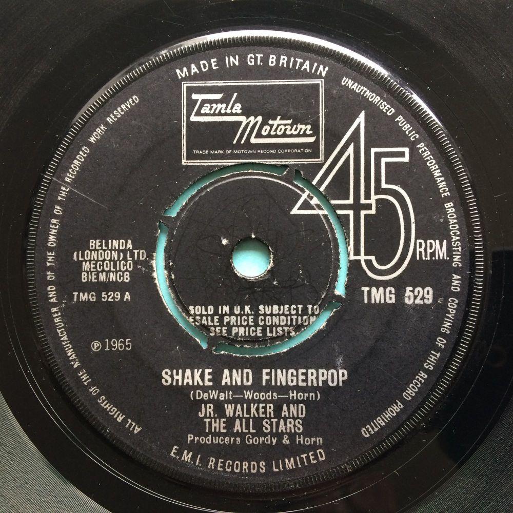 Jr Walker and the All Stars - Shake and fingerpop - UK Tamla Motown - VG+