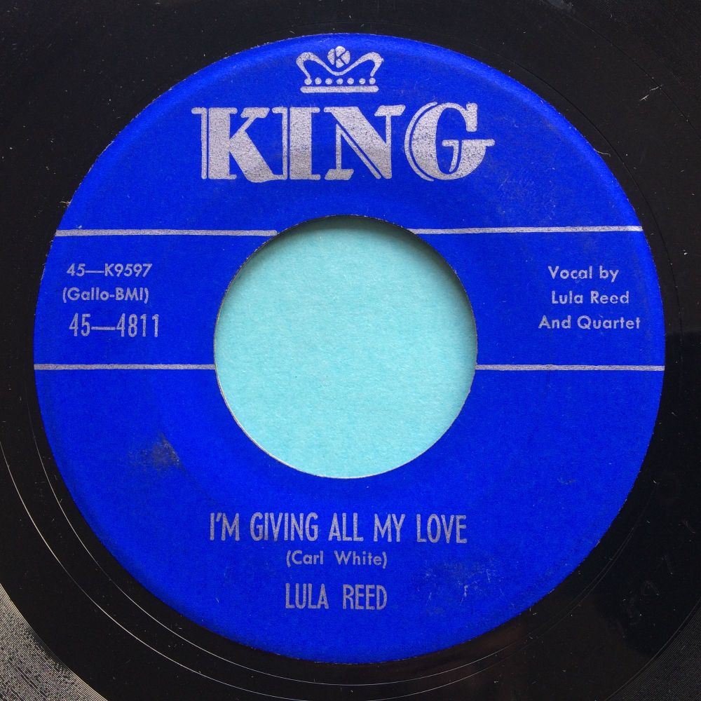 Lula Reed - I'm giving all my love - King - VG+