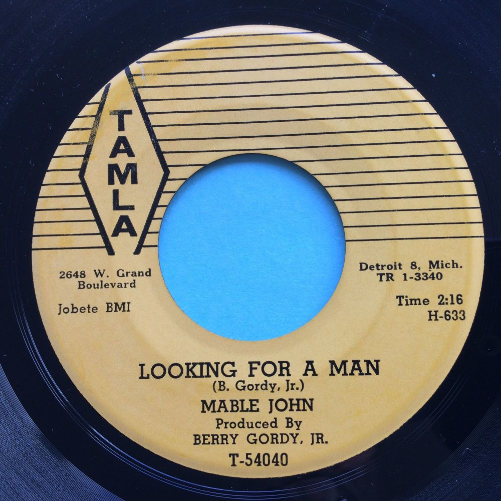 Mable John - Looking for a man - Tamla - Ex-