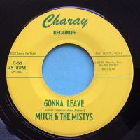 Mitch & the Mistys - Gonna leave - Charay - Ex