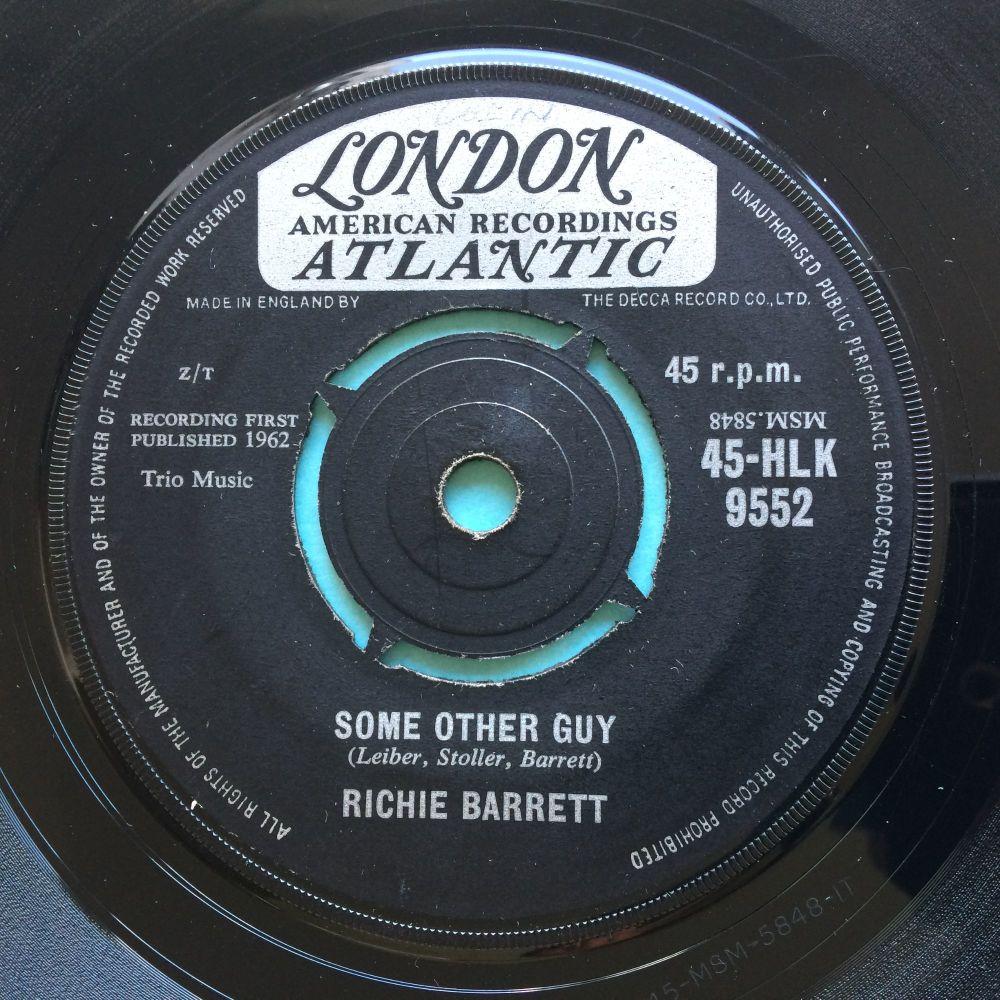 Richie Barrett - Some other guy b/w Tricky Dicky - UK London Atlantic - Ex-