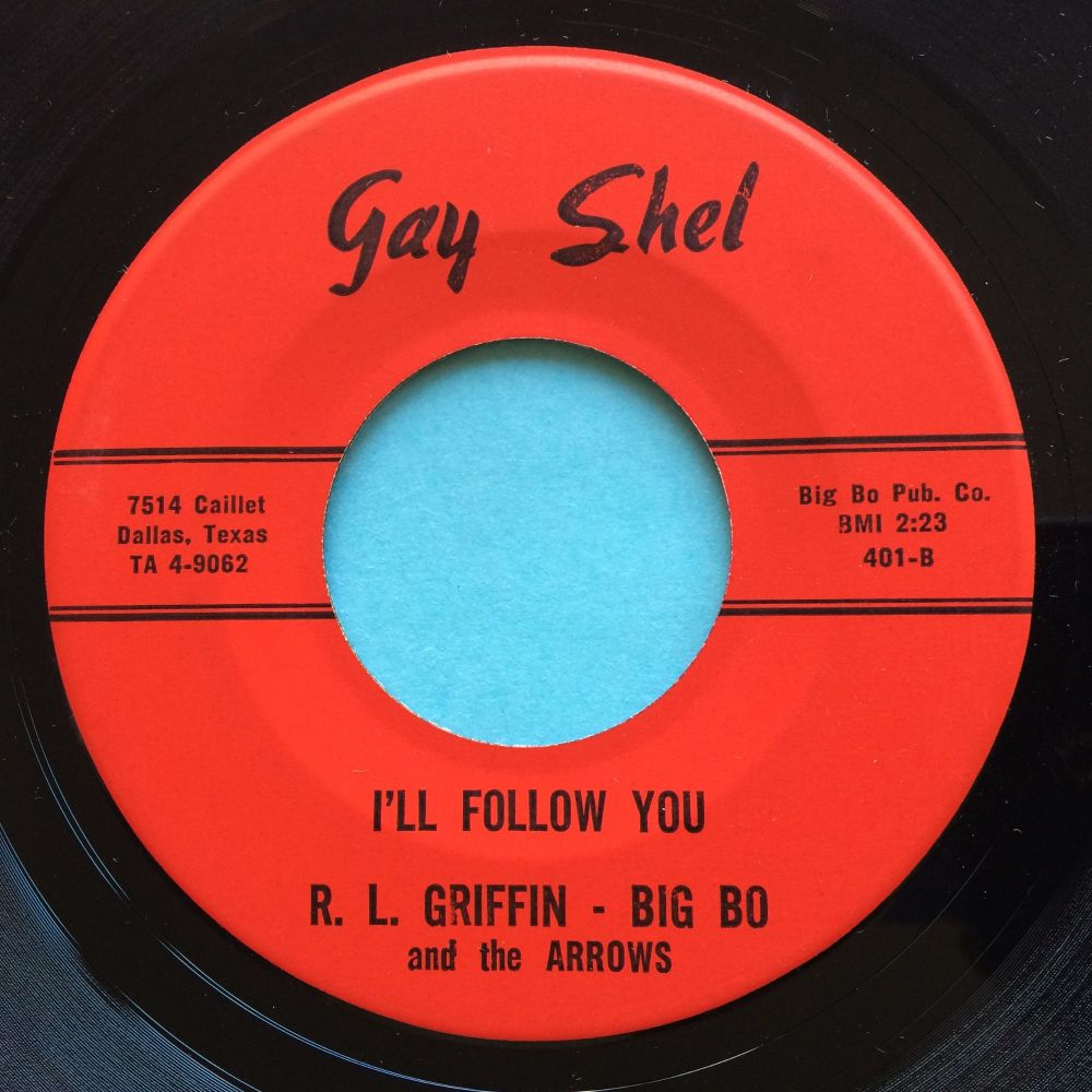 R. L. Griffin - I'll follow you b/w The Ting-A-Ling - Gay Shel - Ex