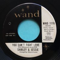 Shirley & Jessie - You can't fight love - Wand - VG+