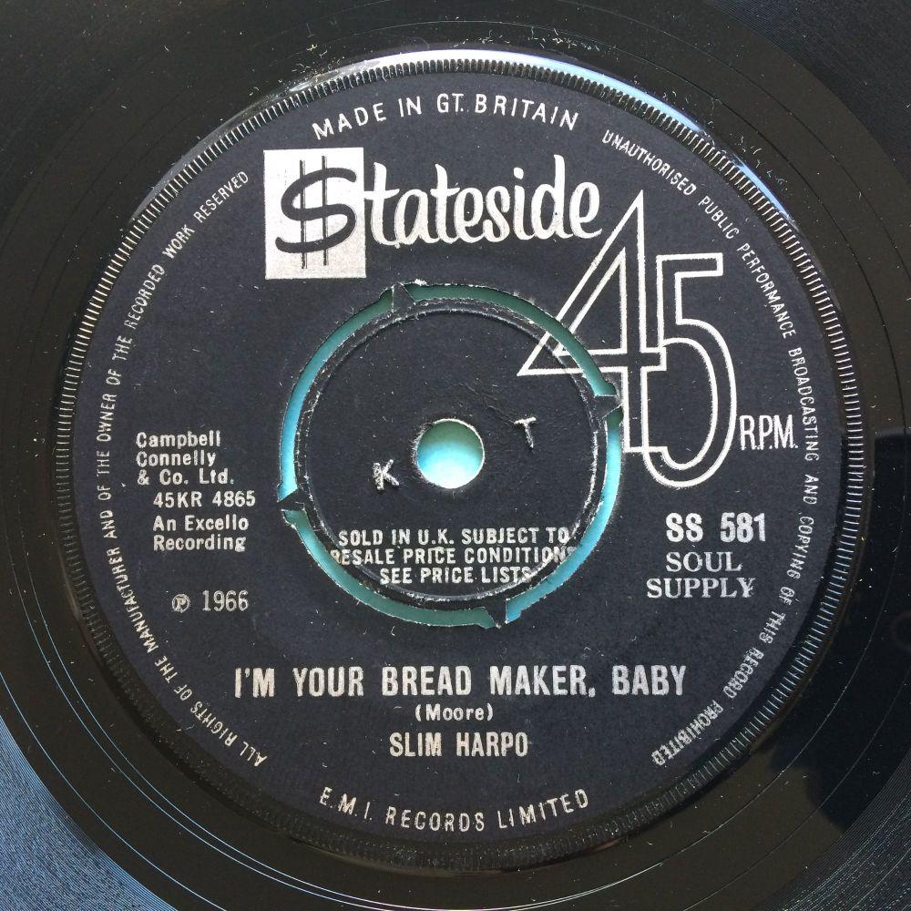 Slim Harpo - I'm your bread maker, baby - U.K. Stateside - Ex
