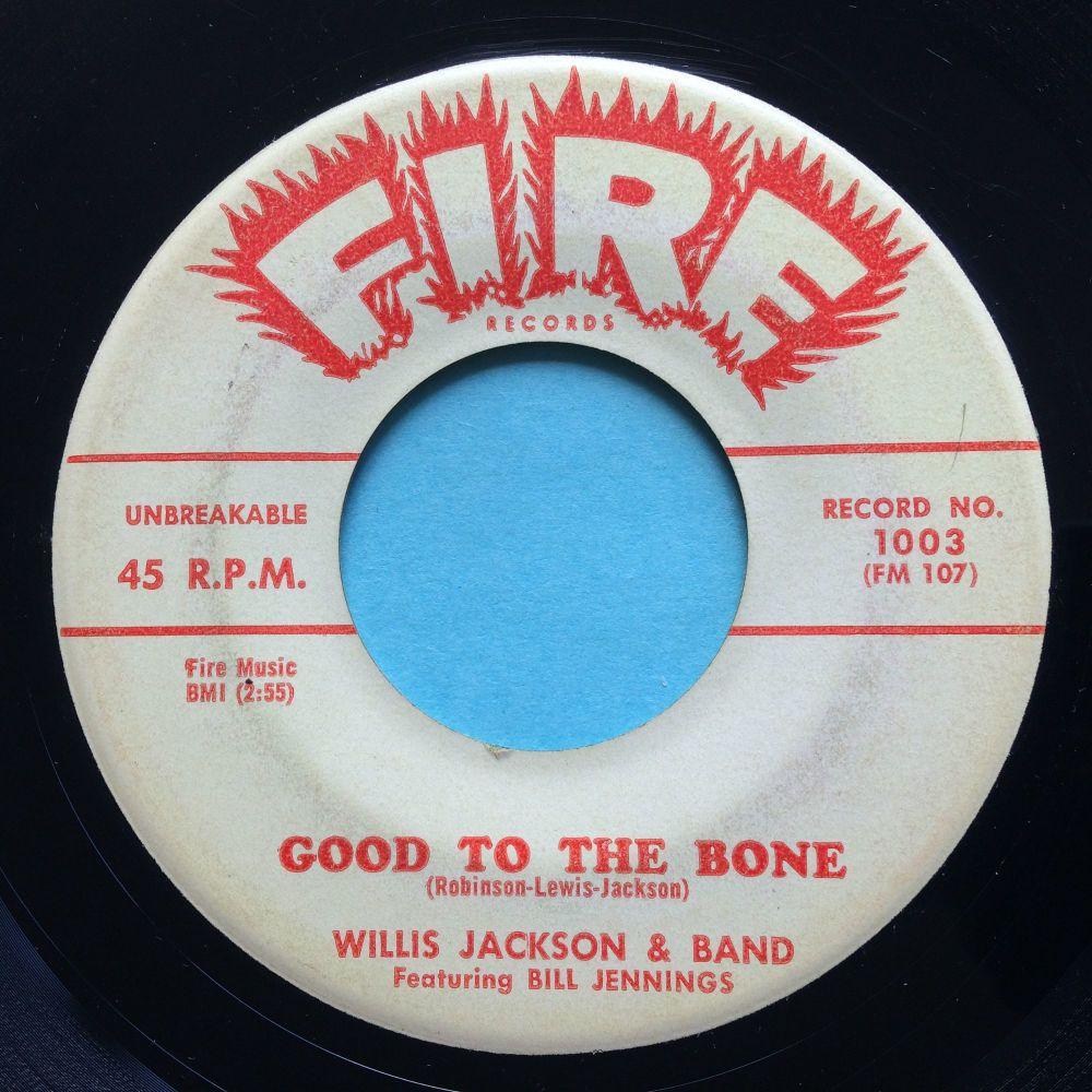 Willis Jackson & Band - Good to the bone - Fire promo - Ex