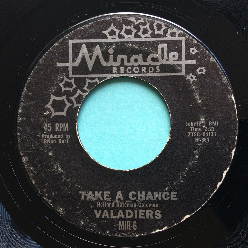 Valadiers - Take a chance - Miracle - VG+