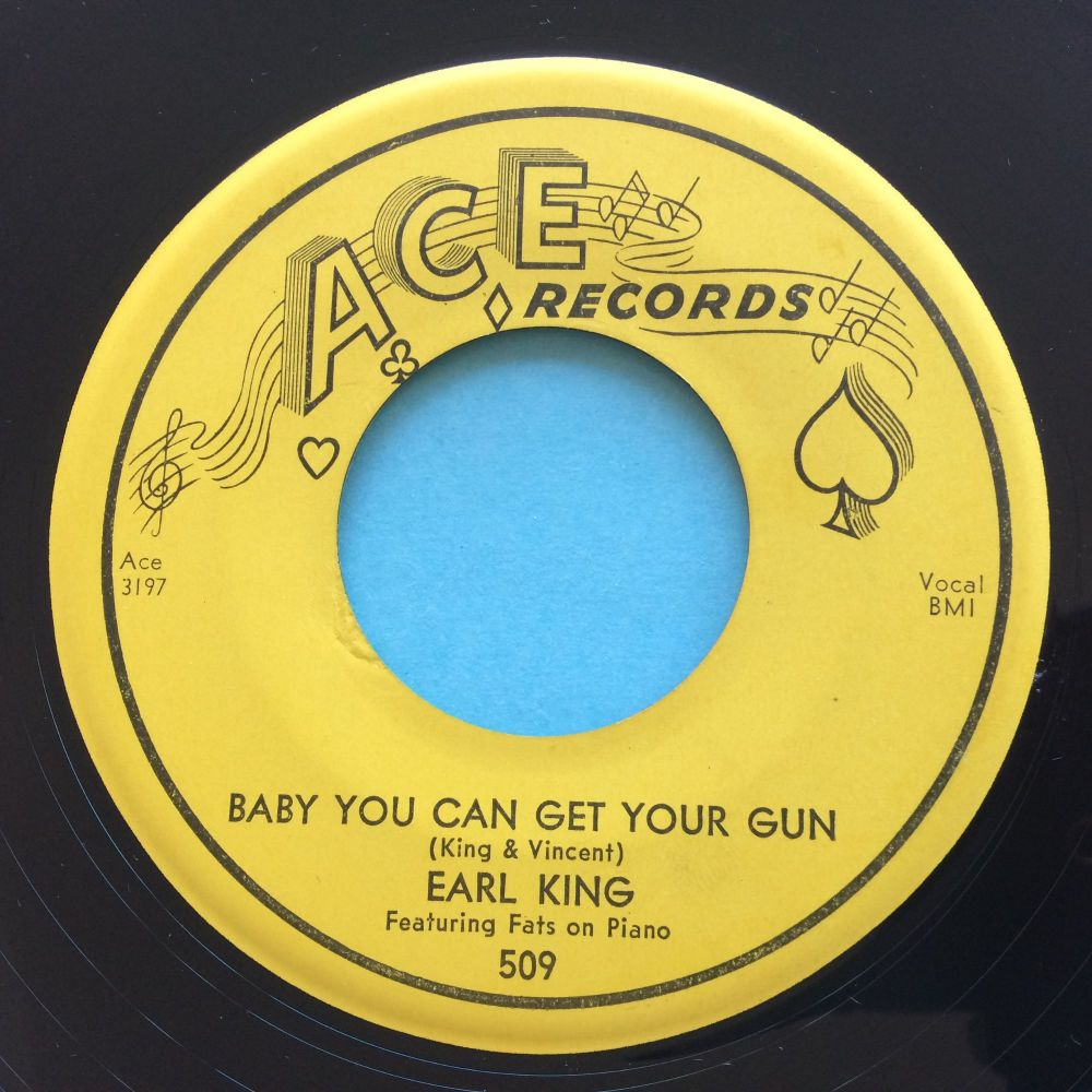 Earl Grant - Baby you can get your gun - Ace - VG+