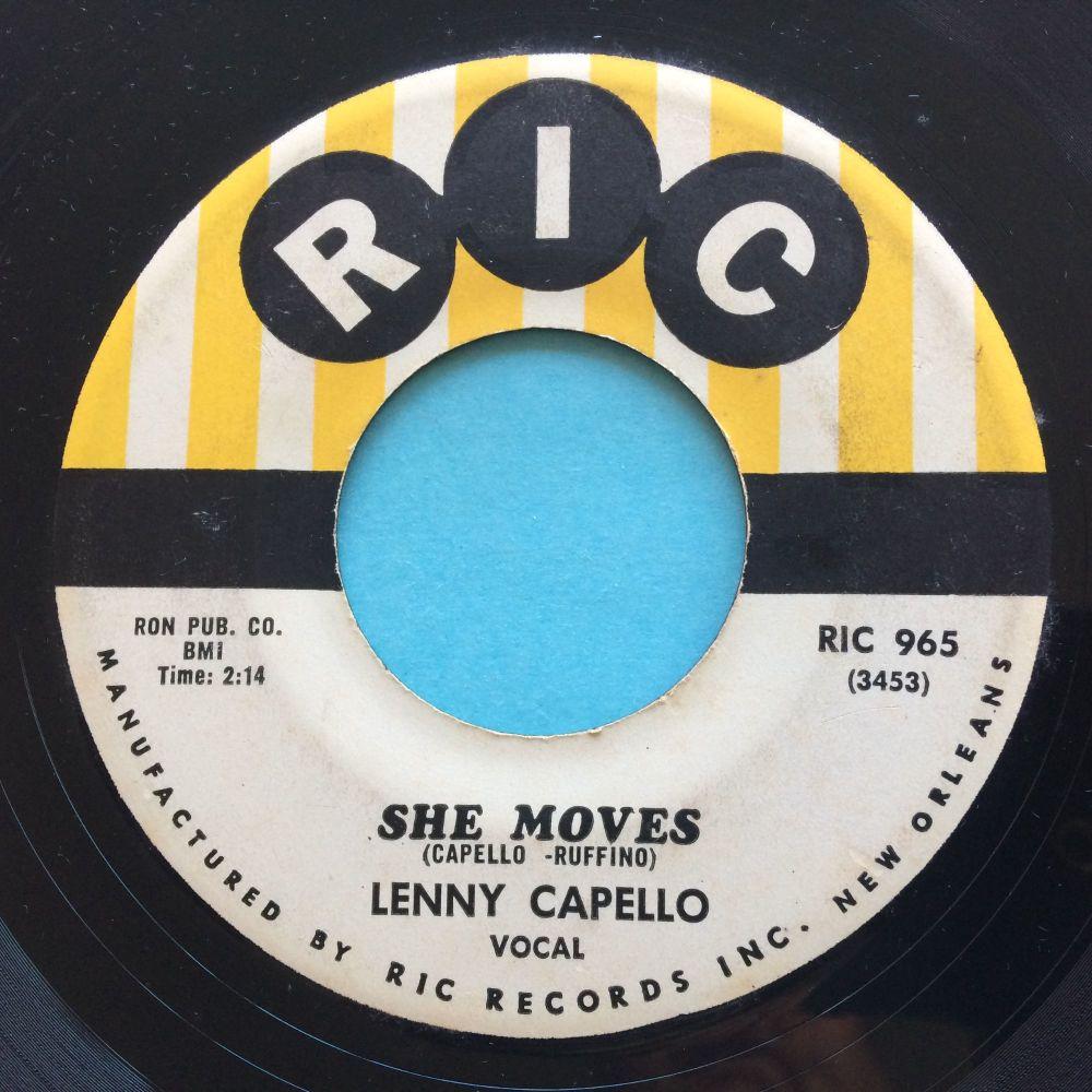Lenny Capello - She moves - Ric - Ex-