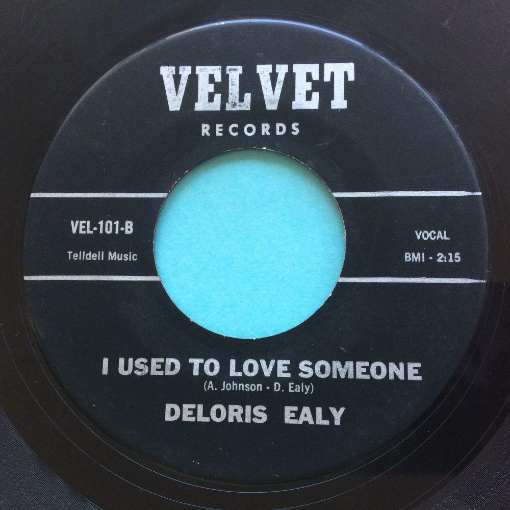 Deloris Ealy - I used to love some-one - Velvet (red vinyl) - VG+