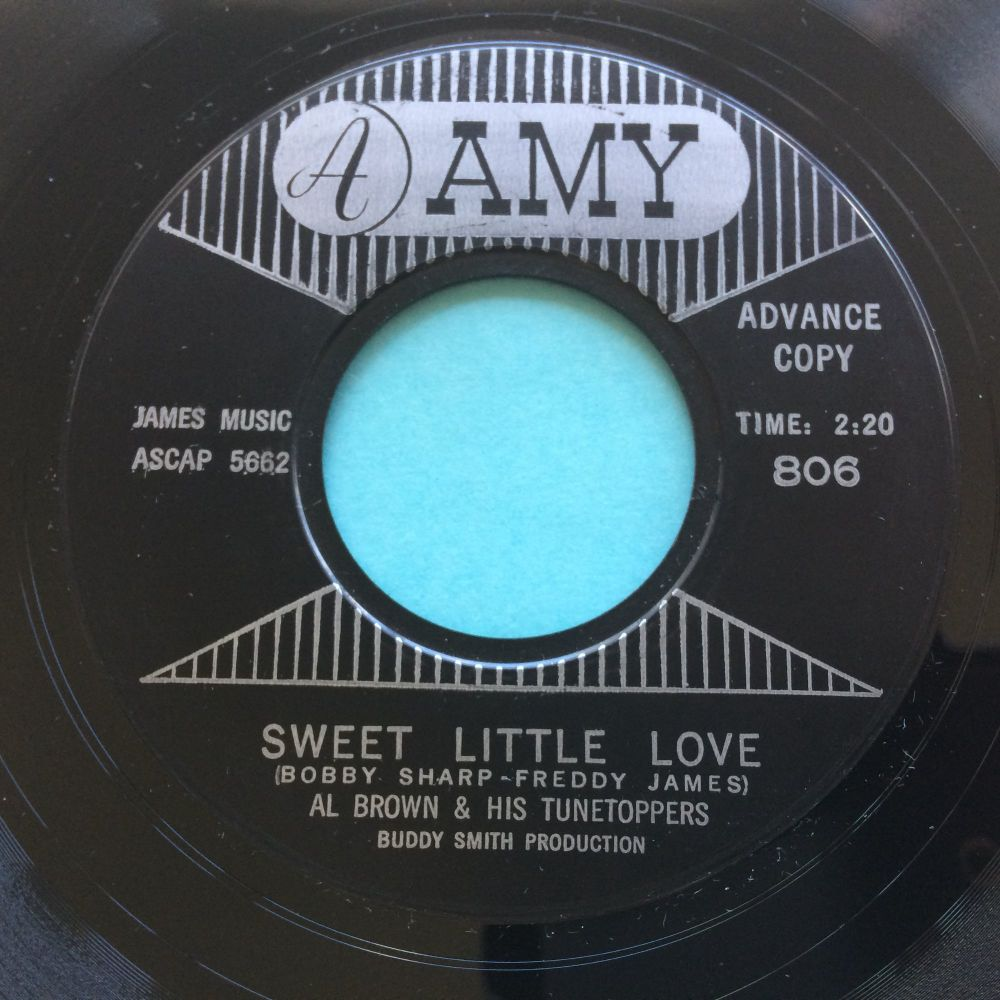 Al Brown & his Tunetoppers - Sweet little love - Amy promo - Ex