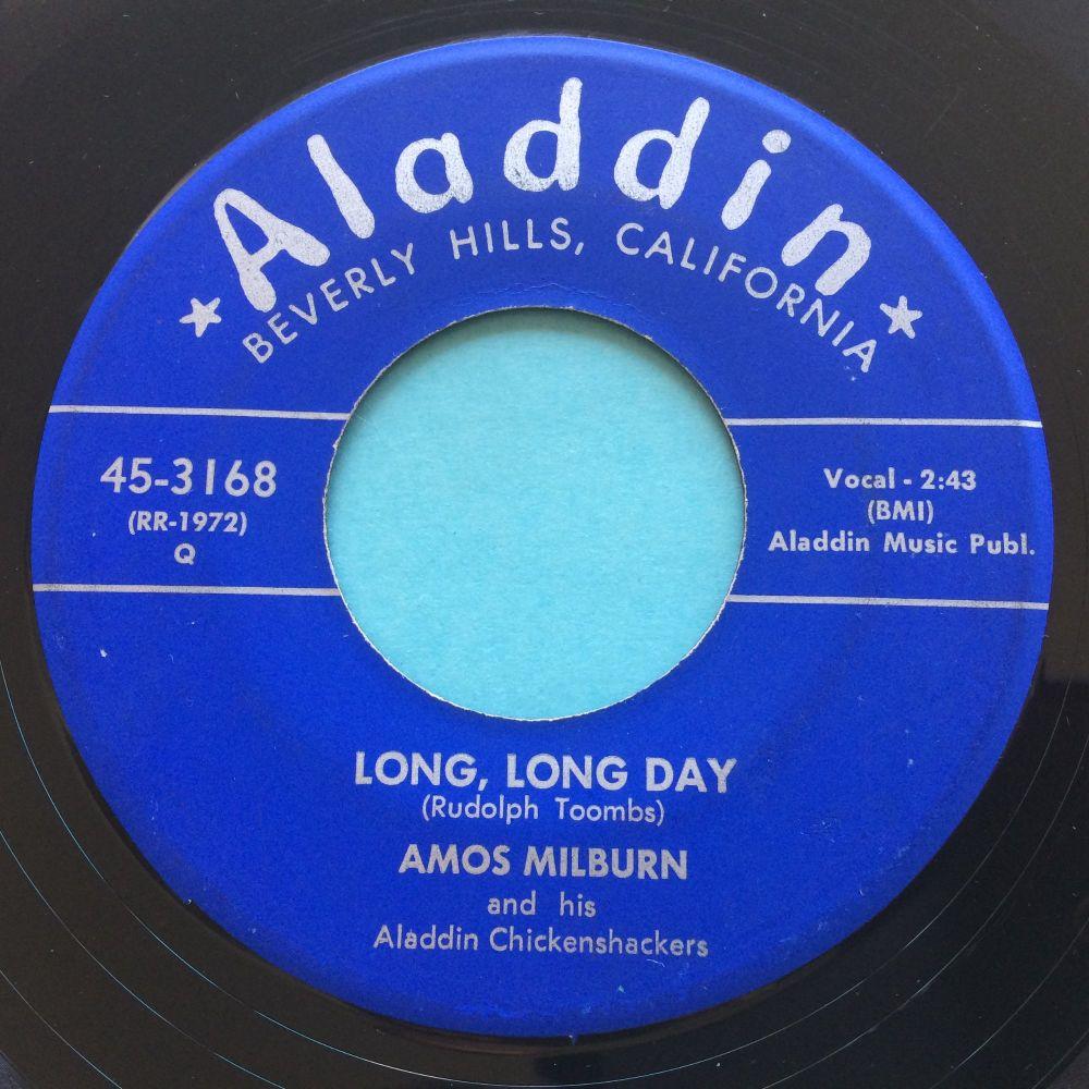 Amos Milburn - Long, long day - Aladdin - Ex-