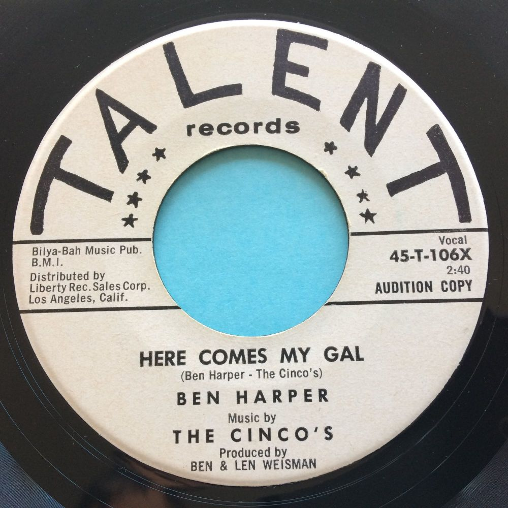 Ben Harper - Here comes my gal - Talent promo - Ex