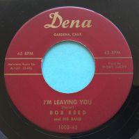 Bob Reed - I'm leaving you - Dena - Ex