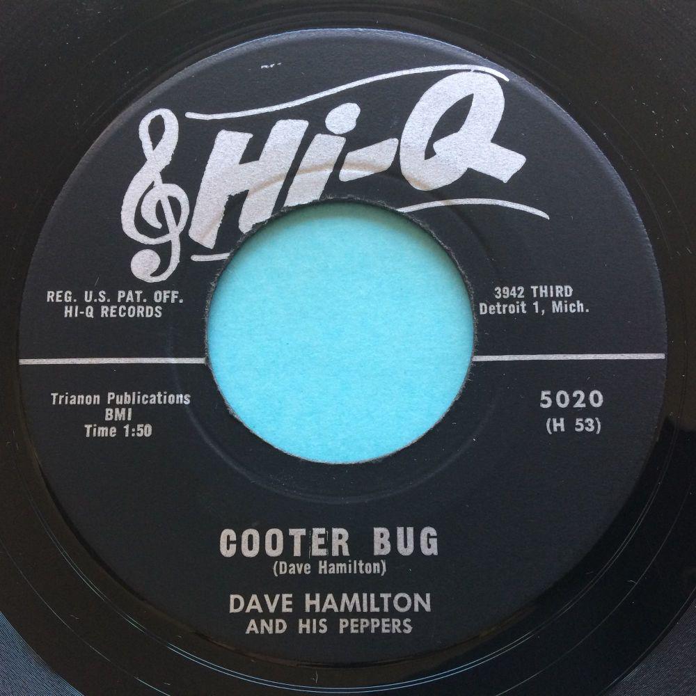 Dave Hamilton - Cooter Bug b/w Donna's Cha Cha - Hi Q - Ex-