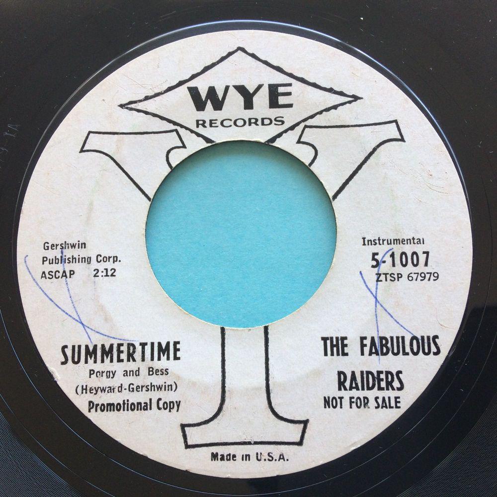 Fabulous Raiders - Summertime - Wye promo - VG+