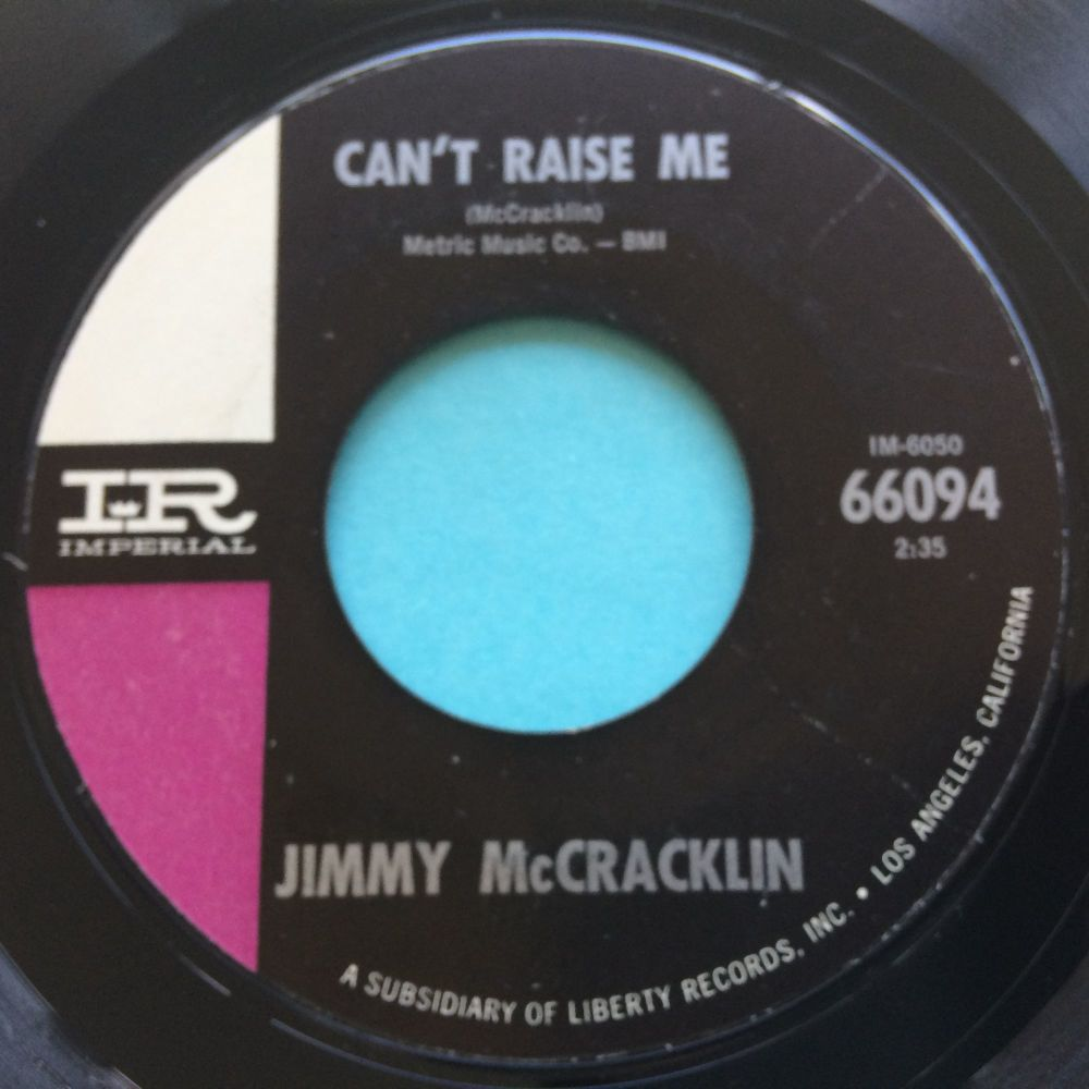 Jimmy McCracklin - Can't raise me - Imperial - Ex-