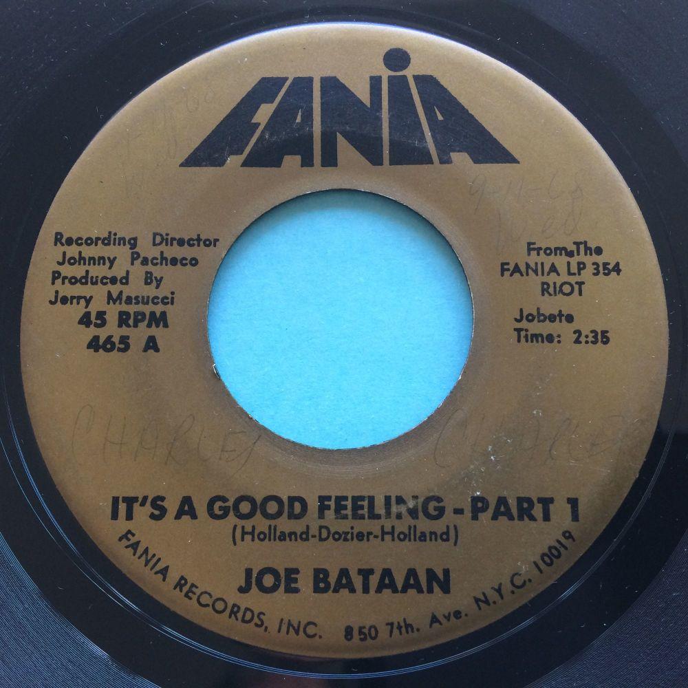 Joe Bataan - It's a good, good feeling Pt1 / Pt2 - Fania - VG+