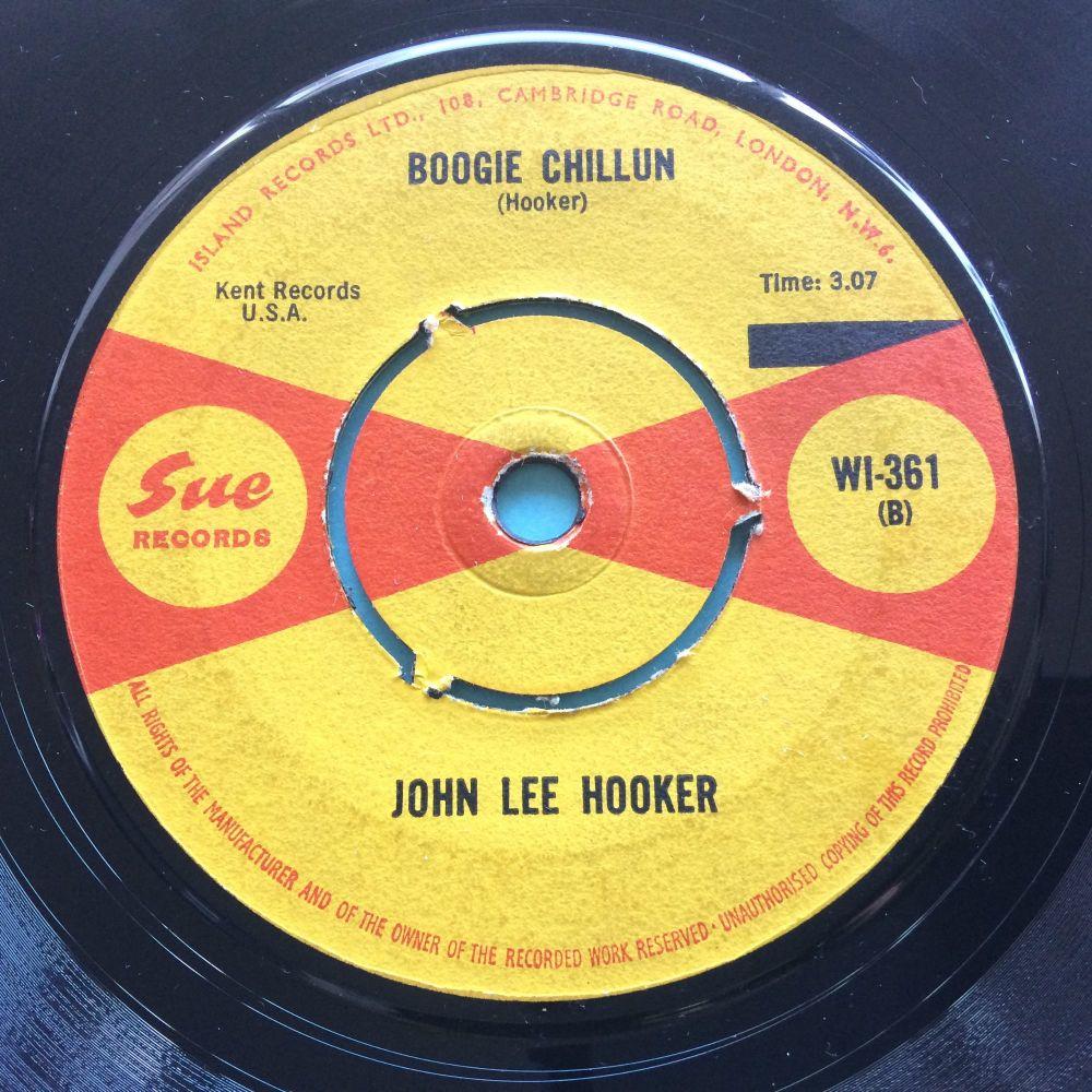 John Lee Hooker - Boogie Chillun - UK Sue - VG+
