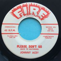 Johnny Acey - Please don't go - Fire promo - Ex