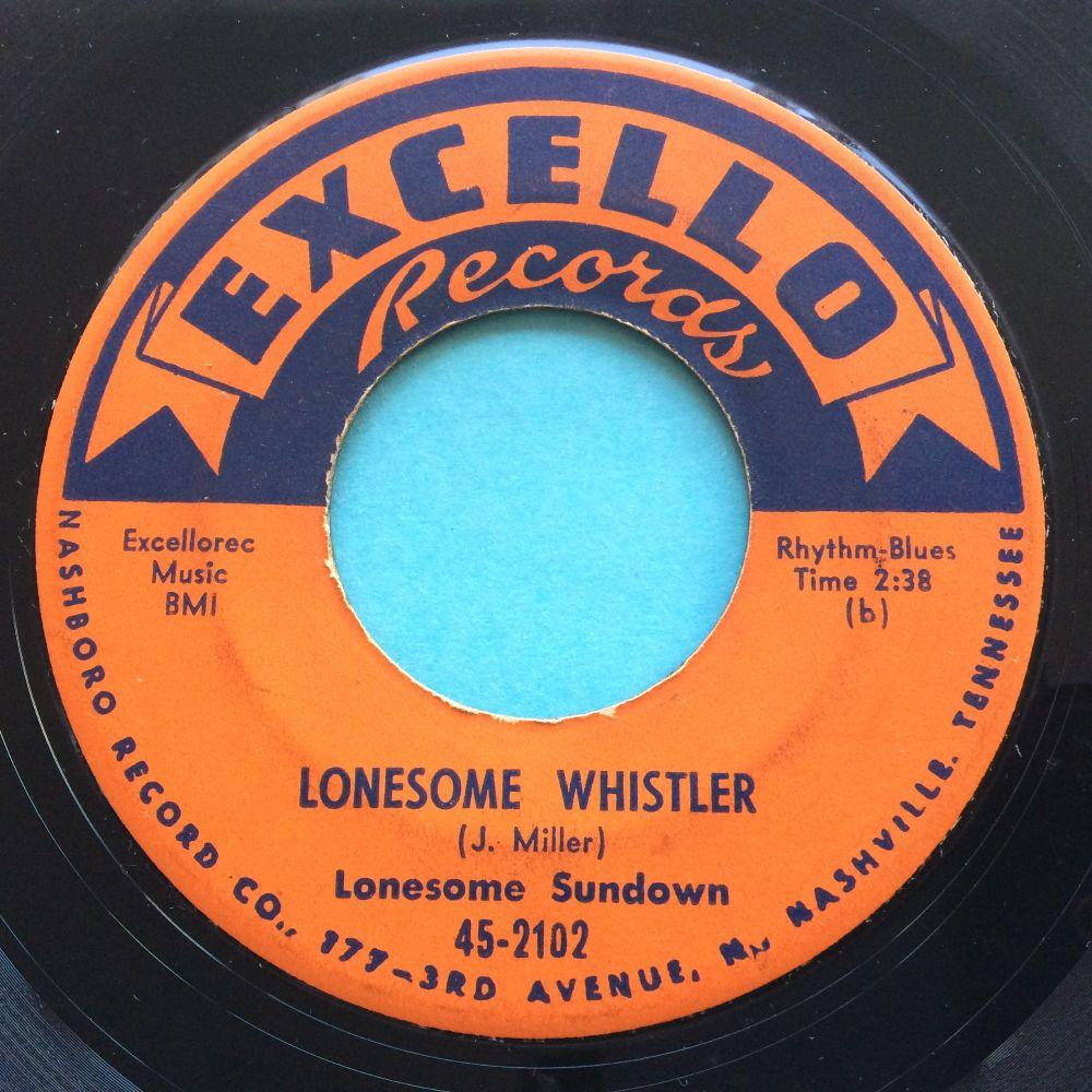 Lonesome Sundown - Lonesome Whistler - Excello - VG+