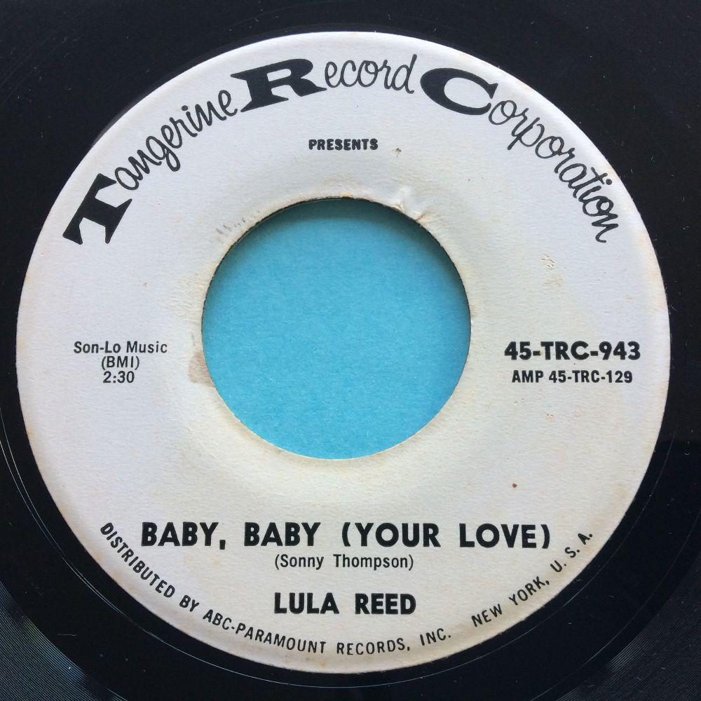 Lula Reed - Baby, baby (Your love) - Tangerine promo - Ex-