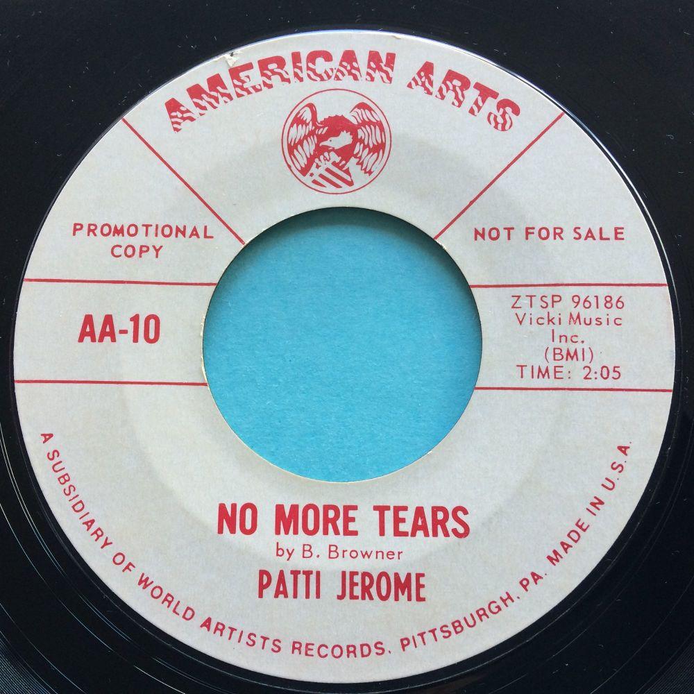 Patti Jerome - No more tears - American Arts promo - Ex