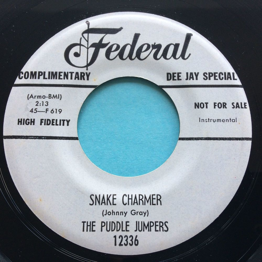 Puddle Jumpers - Snake Charmer - Federal promo - Ex-