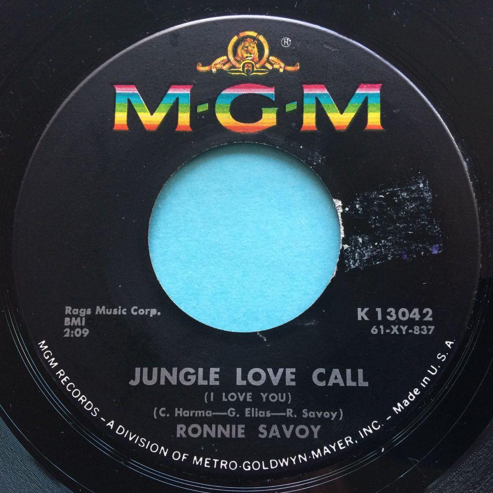 Ronnie Savoy - Jungle love call - Savoy -Ex-