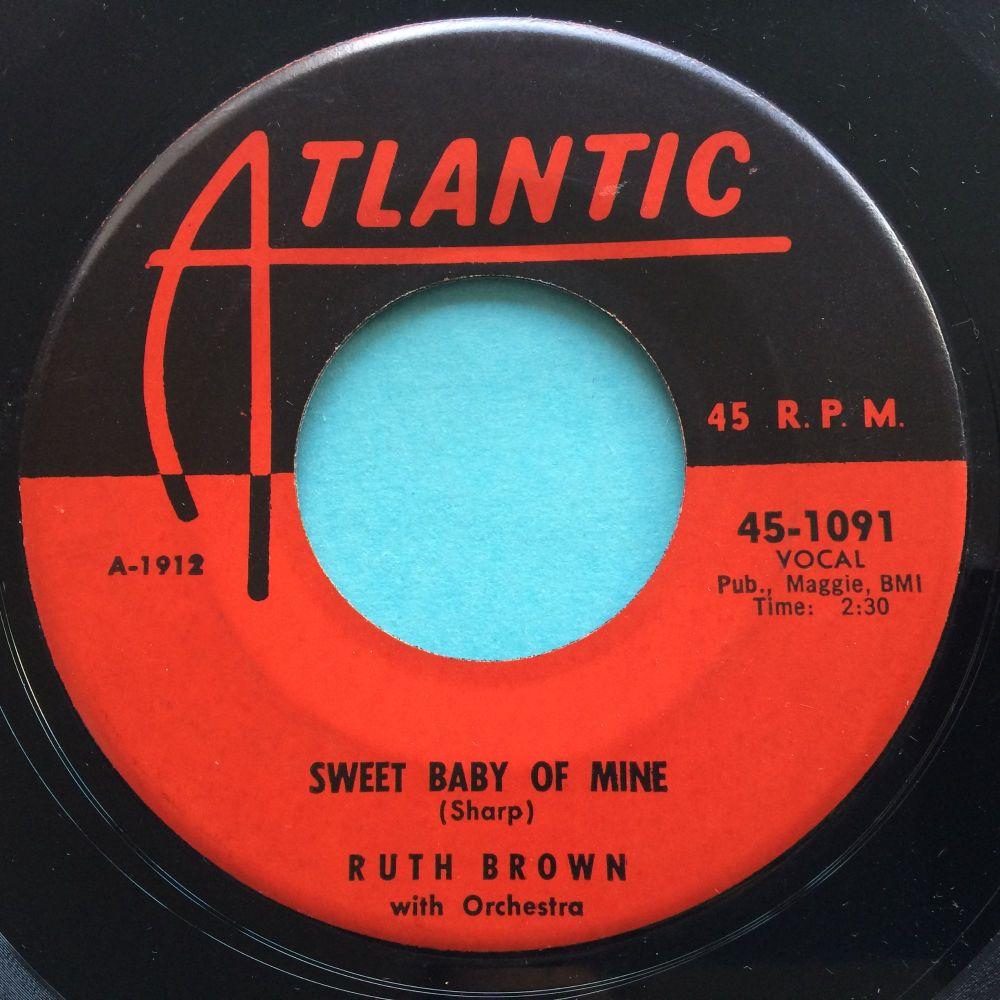 Ruth Brown - Sweet baby of mine - Atlantic - Ex