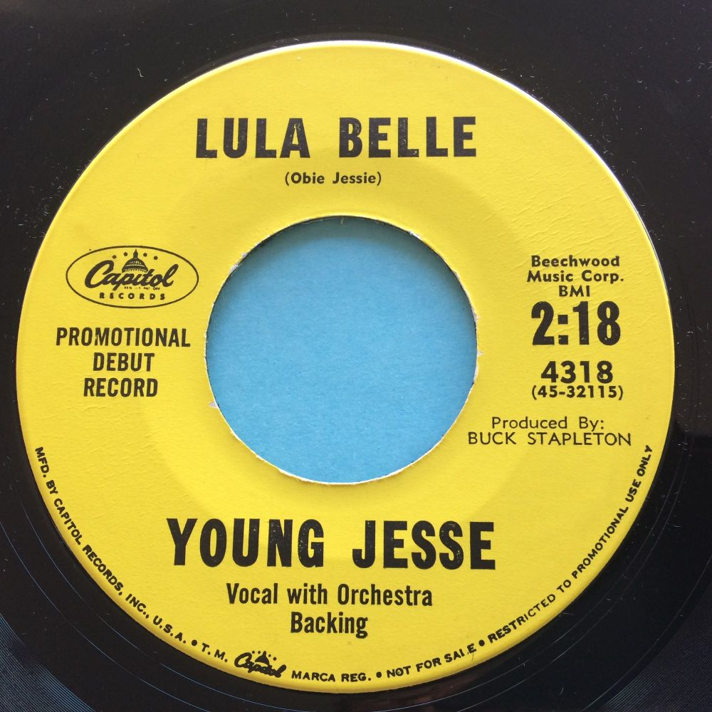 Young Jesse - Lula Belle - Capitol promo - Ex