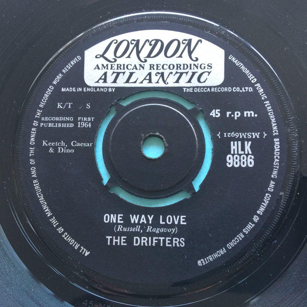 Drifters - One way love b/w Didn't it - U.K. London Atlantic - Ex-